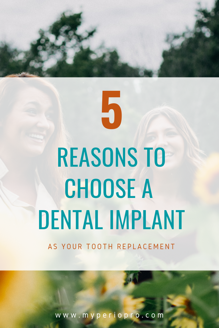 5 reasons to choose a dental implant