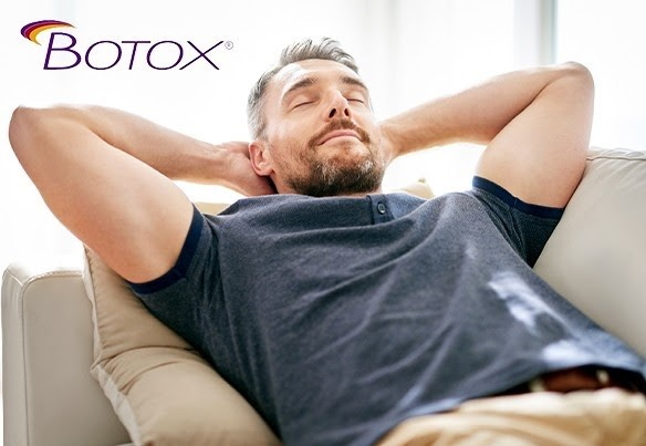 Botox - Relaxed Man